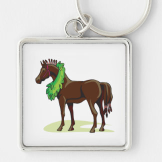 Prize Horse Key Chain