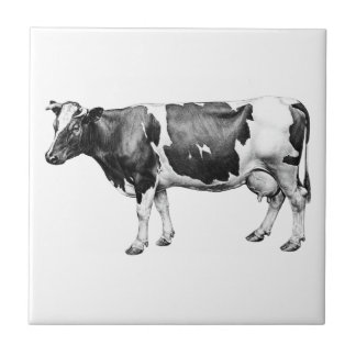 Prizewinning Dairy Cow Tile