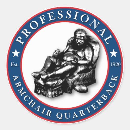 PRO Armchair Quarterback Sticker