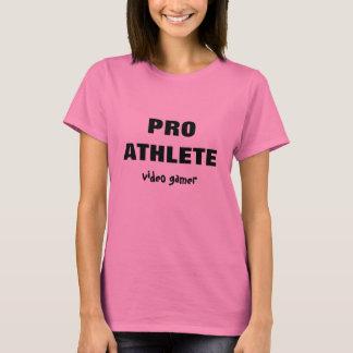 Pro Athlete Video Gamer T-shirt