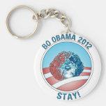 Pro-Bo Obama Dog 2012 Key Chains