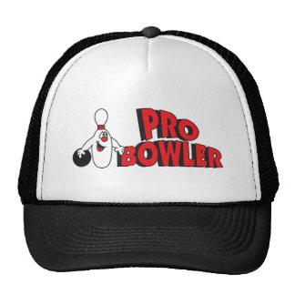 Pro Bowler Bowling Pin Cap