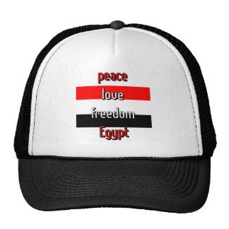 Pro-democracy Egypt Mesh Hats
