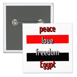 Pro-democracy Egypt Pinback Buttons