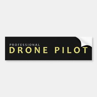 Pro Drone Pilot Bumper Sticker