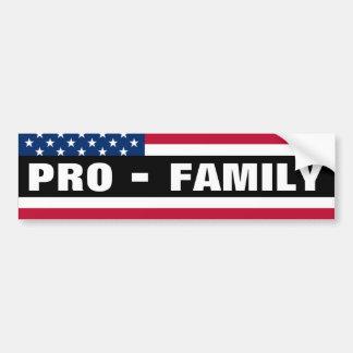 Pro-Family Bumper Sticker