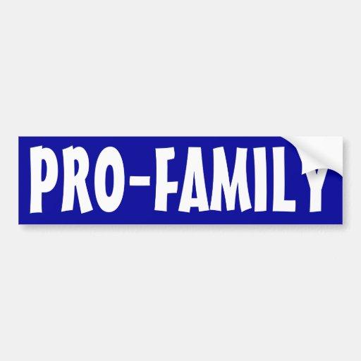 Pro-Family Bumper Stickers