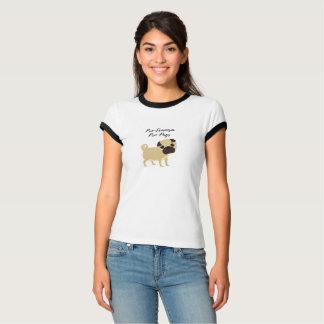 Pro-Feminism Pro-Pugs t-shirt