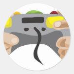 pro gamer!  Customisable: Round Sticker