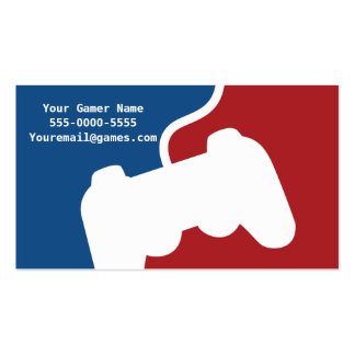 Pro Gamer Video Game Business Cards