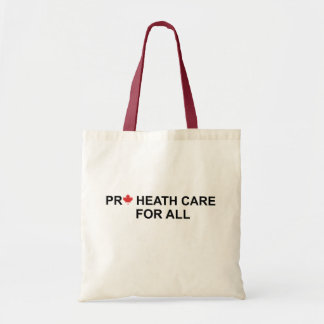 Pro Health Care For All Canvas Bag