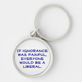 Pro-Liberal political keychain