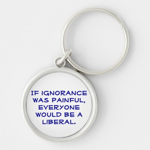 Pro-Liberal, political keychain.