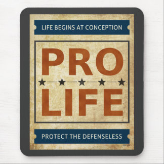 Pro Life Billboard Mouse Pad