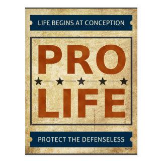 Pro Life Billboard Post Card