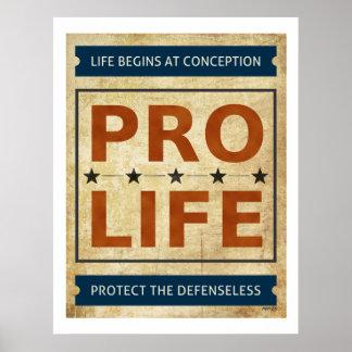 Pro Life Billboard Poster