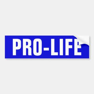 Pro-Life Bumper Sticker