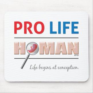 Pro Life Human Mouse Mat