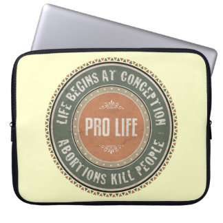 Pro Life Laptop Sleeve