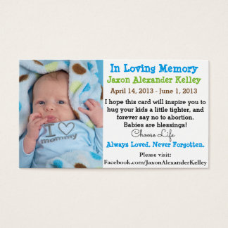 Pro-Life Message Cards