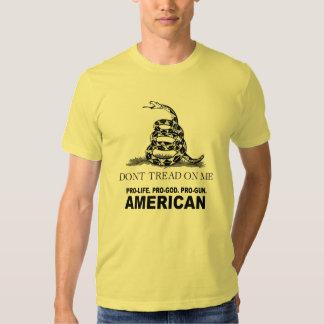 Pro-life. Pro-God. Pro-Gun American T-shirts