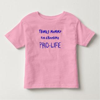 Pro-life Toddler T-Shirt