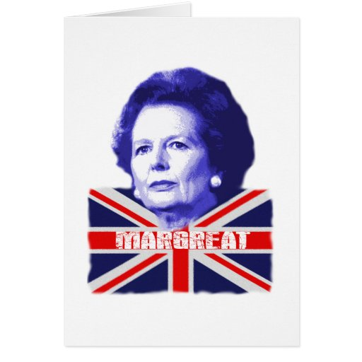 Pro Mrs Thatcher Card