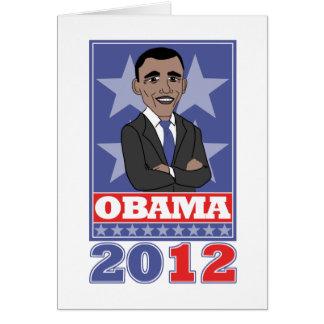 Pro Obama Greeting Card