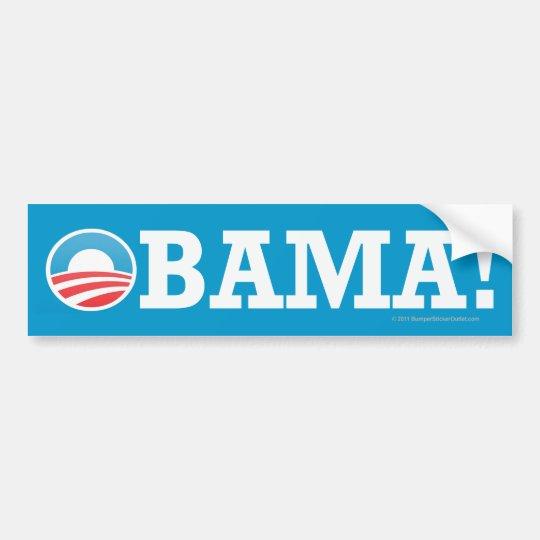 Pro-Obama sticker OBAMA!