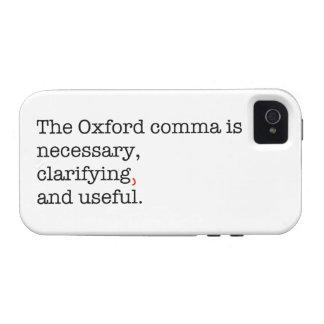 Pro-Oxford Comma Case-Mate iPhone 4 Cases