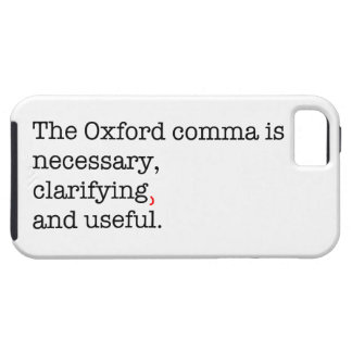Pro-Oxford Comma iPhone 5 Covers