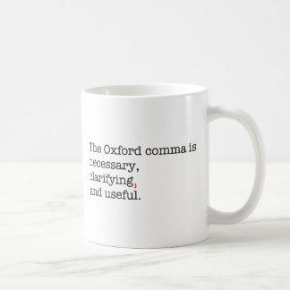 Pro-Oxford Comma Coffee Mug