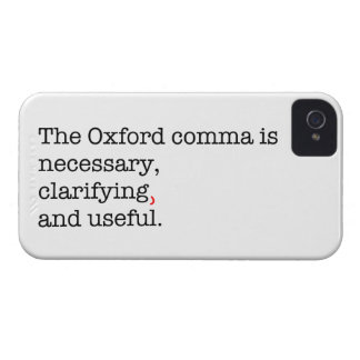 Pro-Oxford Comma iPhone 4 Covers
