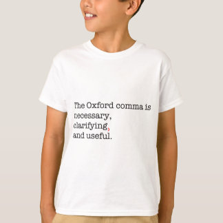 Pro-Oxford Comma T-Shirt