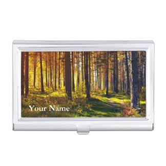 Pro Photography (Forest) Business Card Holder