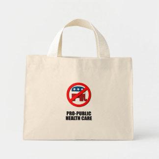 Pro-Public Health Care Tote Bag