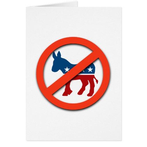 Pro-Republican / Anti-Democrat Greeting Cards