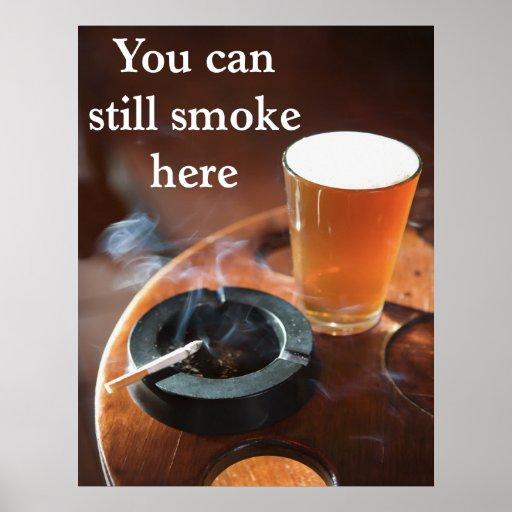 Pro-Secondhand Smoke Poster