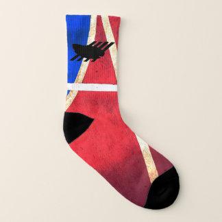 Pro Tribal Men's Size 8-13 Basketball Socks 1