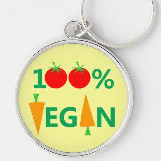 Pro-Vegan Funny Keychain