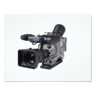 pro video camera custom invites