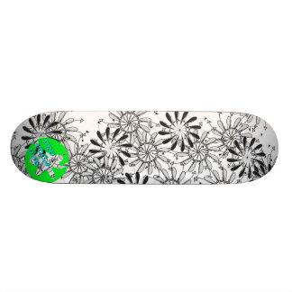 Pro Voca Design Pinflower Dos Skateboard Decks