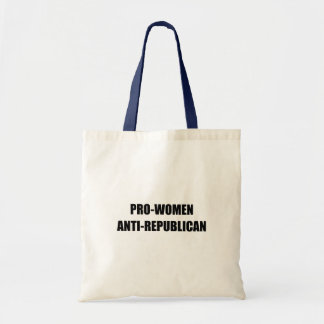 Pro-Women Anti-Republican Canvas Bag