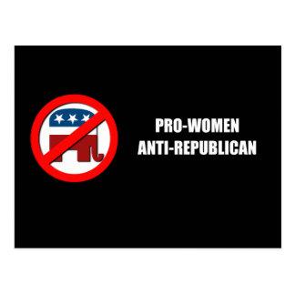 Pro-Women Anti-Republican Postcards