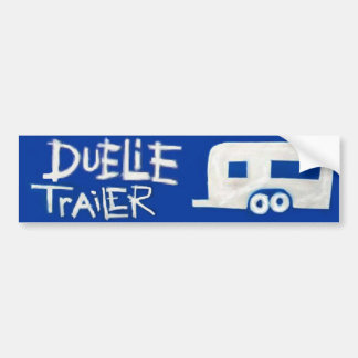Pro-Wrestler Duelie Trailer Bumper Sticker