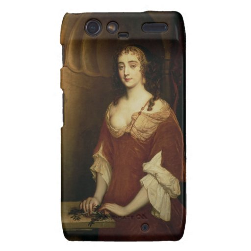 Probable portrait of Nell Gwynne (1650-87), mistre Motorola Droid RAZR Case