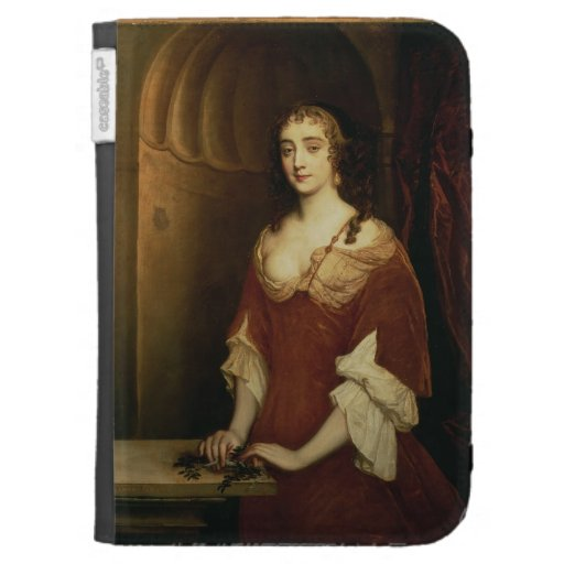 Probable portrait of Nell Gwynne (1650-87), mistre Kindle 3 Cases
