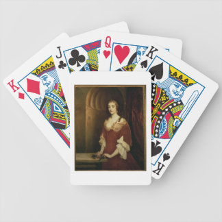 Probable portrait of Nell Gwynne (1650-87), mistre Bicycle Poker Cards