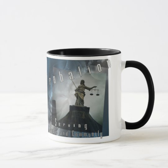 Probation - Serving Courts and Community Mug