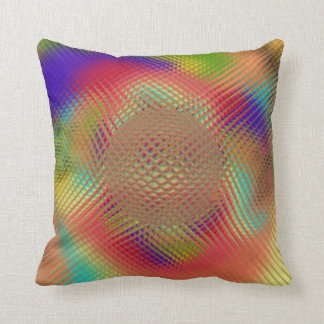 Probing Orb Throw Pillow Cushions